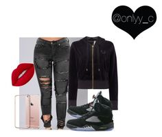 """""""Untitled #74"""" by onlyyc on Polyvore featuring True Religion, NIKE and Lime Crime"""