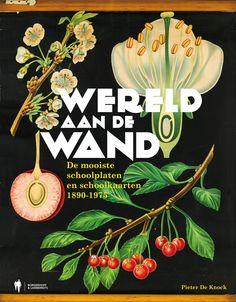 Prachtige selectie schoolplaten en -kaarten! >> Wereld aan de wand - Pieter De Knock - Borgerhoff & Lamberigts - 160 pag. - €34,95 - ISBN 9789089315335