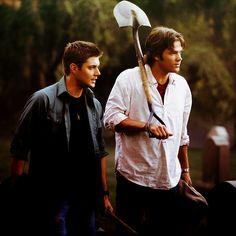 Sam & Dean Winchester - Jensen Ackles + Jared Padalecki #JensenAckles + #JaredPadalecki