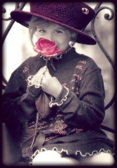 kim anderson,anderson ,flowers,children,Smile,Life,girl,child