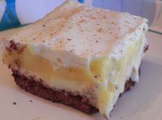 Creamy Eggnog Squares
