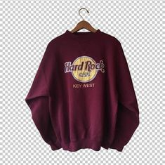 Hard Rock Cafe embroidered from Key West, FL location in estimated Men's Medium-Large. Size label is missing; please refer to measurements for more precise sizing information. Excellent…More Sweatshirt Outfit, Crew Neck Sweatshirt, T Shirt, Vintage Crewneck Sweatshirt, Hard Rock, Trendy Hoodies, Cute Sweatshirts, Key West Florida, Cute Casual Outfits