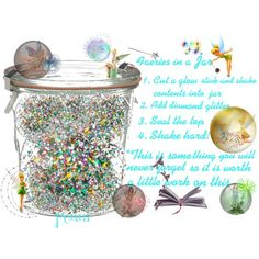 """Faeries in a Jar"" by penni-13 on Polyvore"