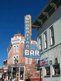 Manhattan Bar  Leadville, Colorado. I want to go see this place one day. Please check out my website thanks. www.photopix.co.nz