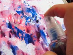 Del Blog Nuestro Mundo Creativo: Pintura en Spray!