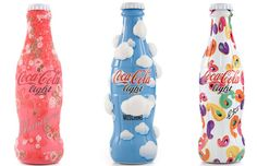Coca Cola's tribute to fashion.