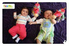 Mamince Kateřině děkujeme za fotku chlapečků s koníky!