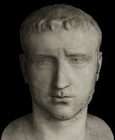 Gallienus. Detail. Marble. 253—268 CE. Inv. No. MC360. Rome, Capitoline Museums, Palazzo Nuovo, Hall of the Emperors