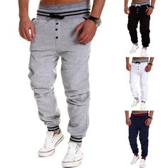 - Product Type: Trousers, Jogging Pants - Age Group: Adults, Teenagers - Material: Polyester, Cotton - Fabric Type: Canvas - Gender: Men, Women - Type: Men's skinny jogging pants - Style: Casual Pants