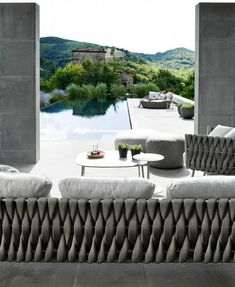 Tribù presents Tosca, design by Monica Armani - New #outdoor furniture collection @Tri Brooksù