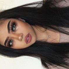 Dramatic Makeup, Dark Makeup, Glam Makeup, Makeup Inspo, Makeup Inspiration, Beauty Makeup, Eye Makeup, Hair Beauty, Makeup Goals