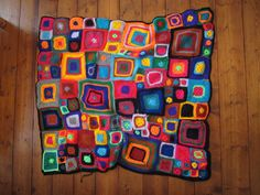 Babette blanket by square