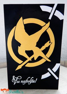The Hunger Games Birthday card.