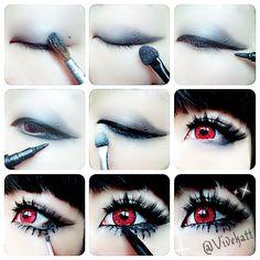 Vivekatt: Devil smoky eye makeup tutorial❤