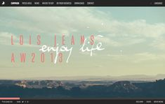 Mystery and desert in the new campaign 'Enjoy Life, Take the Risk' of Lois Jeans for Autumn Winter 2013 season.