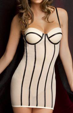 Women/'s Oh La La Cheri Veiled Sheer Bridal G-String Panty