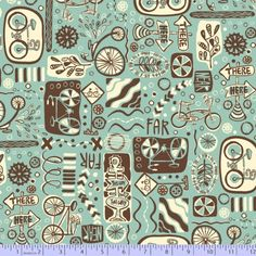 9559-0120, R37 HERE TO THERE by Greta Songe for Studio 37, Marcus Fabrics