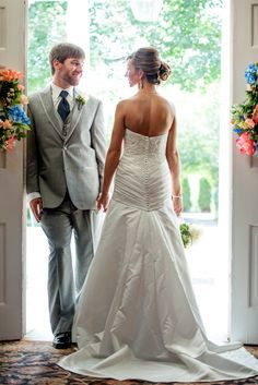 Bride and Groom at Spring Haven Mansion, Nashville wedding photography, southern summer wedding by Twila's Photography