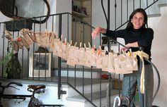 Il calendario dell'avvento con sacchetti, mollette e animali! http://www.piccolini.it/post/491/il-calendario-avvento-sacchetti-mollette-animali/