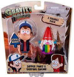 Dipper Pines & Barfing Gnome Action Figure 2-Pack
