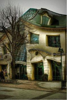 The Crooked House (Sopot, Poland) -- In Sopot, Poland, stands one of the strangest buildings in the world. The Crooked House was built in 2004. Re-pinned by #Europass