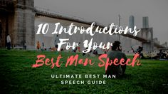 10 Introductions for Your Best Man Speech Best Man Speech Examples, Groom Speech Examples, Best Man Wedding Speeches, Best Speeches, Best Man Speech Template, Great One Liners, One Liner Jokes, Wedding Toast Samples, Groom's Speech