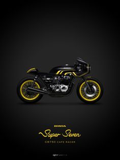 Moto : Illustration Description This might be the sickest Cafe bike I've ever seen! CB 750