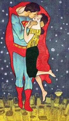 Klimt Superman