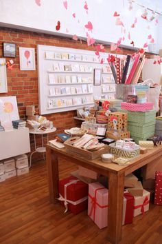 anne the adventurer: Gus and Ruby Letterpress...one day when I go to Boston I will visit this shop!