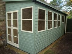 Timber lean to extension