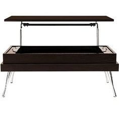 Amazon.com - Koryo Espresso Lift-Top Rectangular Coffee Table -