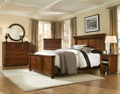Durham Furniture bedroom collection builds solid wood furniture distinguished by exceptional quality, award-winning design and enduring value. Handcrafted from sustainably harvested maple and cherry woods. Durham Furniture, Solid Wood Bedroom Furniture, Wood Bedroom Sets, Bedroom Ideas, Bedroom Decor, Cherry Wood Bedroom, Fall Bedroom, Master Bedroom, Wood Beds