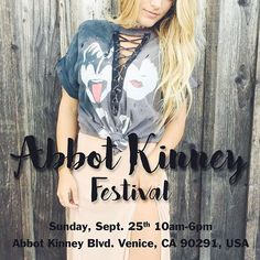 WEBSTA @ shoptrendyandtipsy - What up Venice Beach🌴🌞we have arrived!! Come visit us at the Abbot Kinney street fair and check out today's vintage must haves💖 #trendyandtipsy #abbotkinney #losangeles
