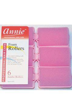 AOneBeauty.com - annie Foam Rollers Jumbo Pink