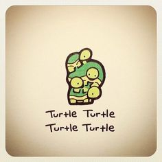 Reminds me of my kids Cute Turtle Drawings, Animal Drawings, Cool Drawings, Turtle Time, Tiny Turtle, Cute Turtles, Baby Turtles, Ninja Turtles, Sheldon The Tiny Dinosaur