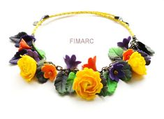Yellow roses neclace Yellow Roses, Band, Accessories, Fashion, Moda, Sash, Fashion Styles, Ribbon, Bands