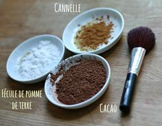 DIY_poudre_bronzante_maison made with Make Beauty, Natural Beauty Tips, Organic Beauty, Homemade Primer, Suntan Lotion, Healthy Beauty, Natural Make Up, Beauty Recipe, Diy Makeup