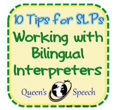 GUEST POST: MONOLINGUAL SLP IN A BILINGUAL WORLD ON LIVELOVESPEECH  - pinned by @PediaStaff – Please Visit ht.ly/63sNtfor all our pediatric therapy pins