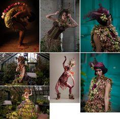 Nicole Dextras – Little Green Dress Projekt – couture nature écologique et durable (Canada)