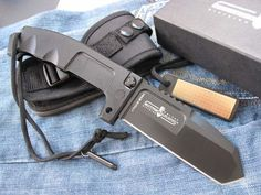 EXTREMARATIO RAO Knife Bowie survival hunting outdoor folding 6mm