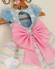 Para uma linda festa Ursinhos Carinhosos! ⛅ #ursinhoscarinhosos #festaunicornio #festachuvadebencaos #festachuvadeamor #chuvadeamor #unicornio #arcoiris #vestidodefestainfantil #vestidoinfantil #maedemenina #maedeprincesa #natalrn #bomdia Baby Girl Party Dresses, Baby Dress, Fashion Kids, Little Girl Dresses, Girls Dresses, Epic Halloween Costumes, Girl Birthday Decorations, Baby Tumblr, Dress Tutorials