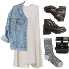 Shootfits by froufrouu on Polyvore featuring polyvore, fashion, style, Roksanda Ilincic, Opening Ceremony, Falke, Impossible Project, clothing, Dr. Martens and Alexander Yamaguchi