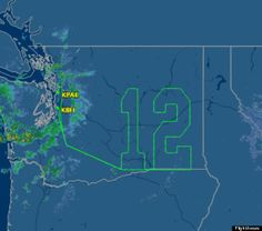 Seahawks plane. Go Hawks!!