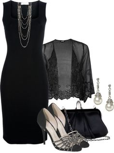 """Black Tie Benefit II"" by brendariley-1 on Polyvore"