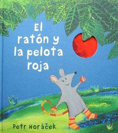 ¿Qué es eso rojo y brillante que cuelga del árbol? El Ratoncito cree que es una pelota, pero el Topo está seguro de que es un globo, y el Conejo dice que es una canica. Ninguno de ellos puede llegar solo.  ¿Cómo conseguirán alcanzarlo? (A partir de 5 años)