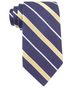 Tommy Hilfiger Tie, Prep Stripe - Mens Ties - Macy's