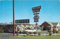 Wayside Motel, U.S. Hwy. 301 - 2 miles south of Wilson, NC. Phone 7-1933. 1956