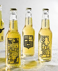 Oh Beautiful Beer celebrates remarkable graphic design from the world of beer. The site is completely dedicated to showcasing beautiful beer branding, packaging Cool Packaging, Beverage Packaging, Bottle Packaging, Brand Packaging, Packaging Design, Coffee Packaging, Kombucha, Icelandic Beer, Bottle Images