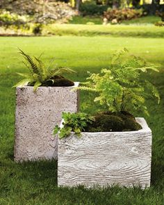 diy concrete garden projects - Google Search