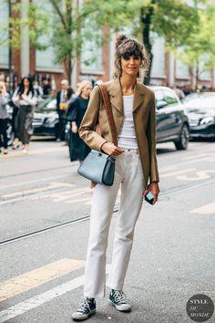 Milan SS 2020 Street Style: Mica Arganaraz - STYLE DU MONDE | Street Style Street Fashion Photos Mica Arganaraz
